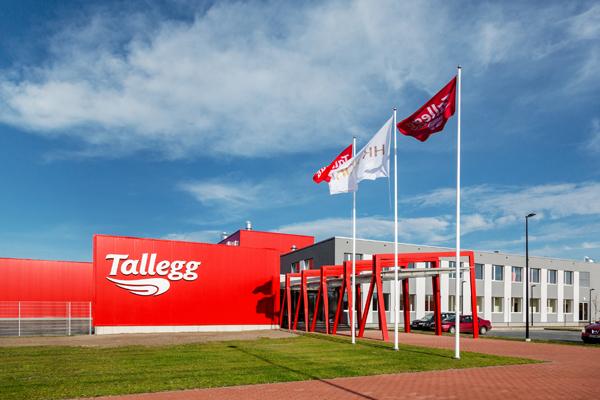 AS TallEgg tööstushoone juurdeehitus